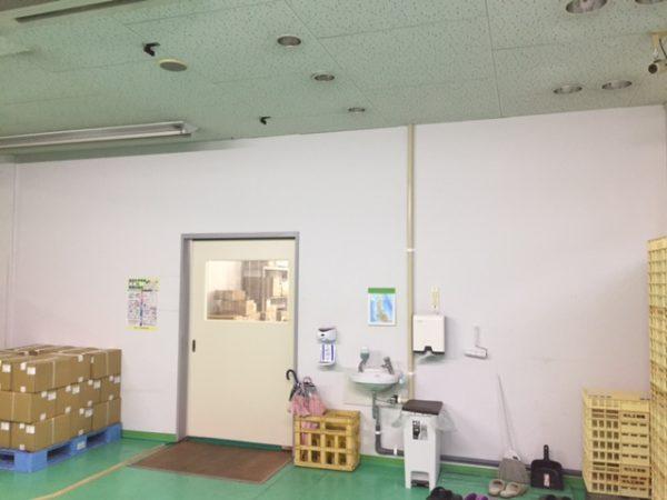 倉庫内の工場外観