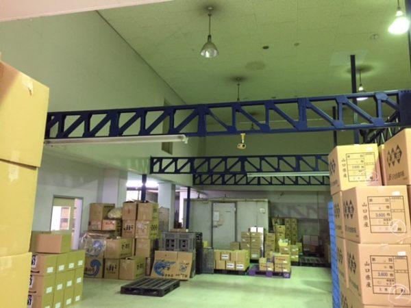 倉庫の1階部分