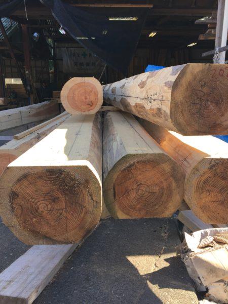 購入後の木材