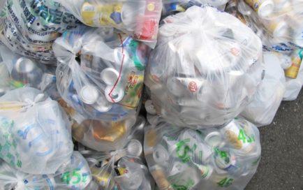 ゴミ置き場から空き缶を持っていくのは犯罪