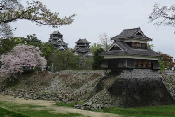 熊本城の石垣崩壊その二