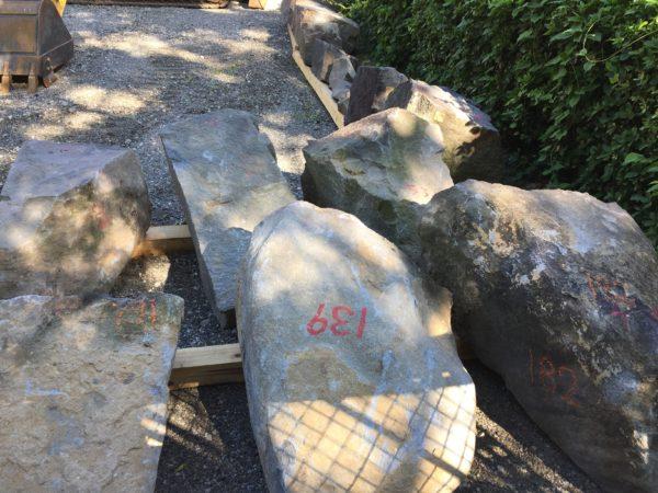 ナンバリングされた石材その二